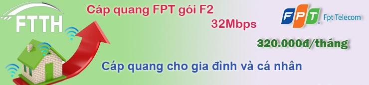 cáp quang gói f2 fpt